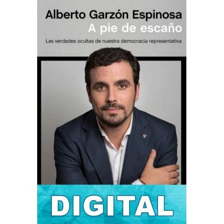 A pie de escaño Alberto Garzón Espinosa