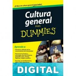 Cultura general para Dummies Forence Braunstein & Jean-François Pépin