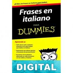 Frases en italiano para Dummies Francesca Romana Onofri & Karen Antje Möller