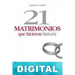 21 matrimonios que hicieron historia Gerardo Castillo
