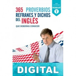 365 proverbios, refranes y dichos en inglés Guy Williams