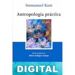 Antropología práctica Immanuel Kant