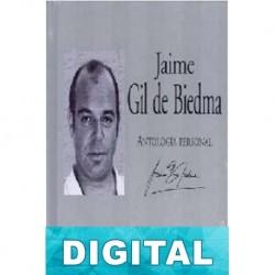 Antología personal Jaime Gil de Biedma