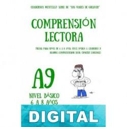 Cuaderno de comprensión lectora para niños de 6 a 8 años