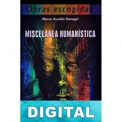 Miscelánea humanística Marco Aurelio Denegri