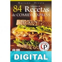 84 recetas de comida express Mariano Orzola