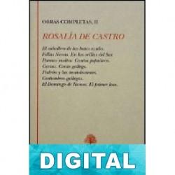 Cartas Rosalía de Castro