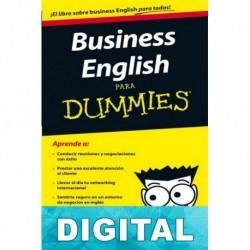 Business English para Dummies Varios autores