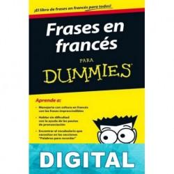 Frases en francés para Dummies Varios autores