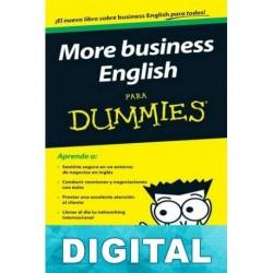 More business English para Dummies Varios autores