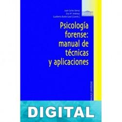 Psicología forense: manual de tecnicas y aplicaciones Varios autores