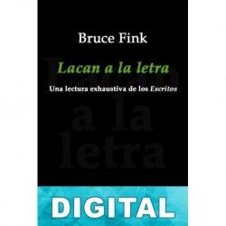 Lacan a la letra Bruce Fink